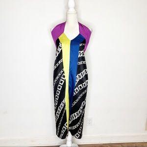 Silk Neon Beach Swim Cover Up Skirt By La Perla